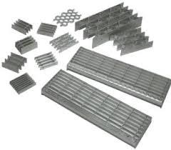 swage locked aluminum bar grating bar grate mezzanine floor