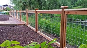 wire fence designs. Exellent Wire Wire And Wood Fence Gorgeous Designs Services Cedar  River Construction Make Your   To Wire Fence Designs D