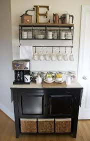 home coffee bar furniture. our rolling table does not fit in the kitchen new apartment so i put it dining room as a coffeetea bar like this home coffee furniture o