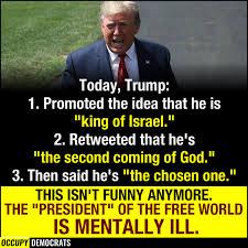 Image result for trump god complex