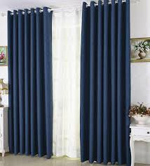 awesome blackout navy curtains designs with eco friendly navy blue linen thick blackout insulated curtains