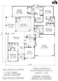 4 Bedroom 1 Story House Plans Catchy Interior Home Design Kids ...