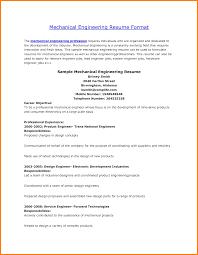 Resume New Graduate Mechanical Engineer Fresh Mechanical Resume
