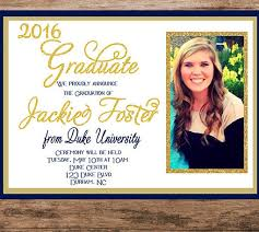 Graduation Announcements For High School Graduation Invitation College Graduation Invitation Printable