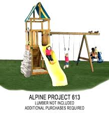 wooden swing set kits swing set parts and accessories outdoor swing set accessories alpine custom play