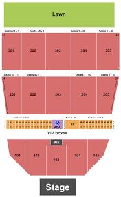 Waterfront Concerts Seating Chart 53 Efficient Bangor Waterfront Seating Chart