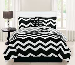 image of black and white bedding target