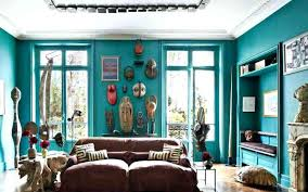 african living room decor furniture decoration theme with blue walls south style ideas