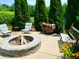 Stacked Stone Fire Pit 39 rustic fire pit custom fire pits home design ideas nswpeaceorg 6654 by uwakikaiketsu.us