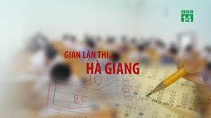 Kết quả hình ảnh cho Vụ gian lận điểm ở Hà Giang