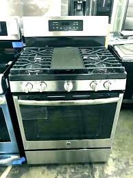gas stove top with griddle. Stove With Griddle Electric 4 Burner Profile Gas Chef . Top