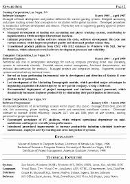 It Sample Resume Lovely It Manager Resume Template Director Of It
