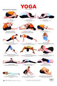 Educational Charts Series Yoga Chart 3