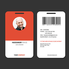 Identity Card Design Pvc Rectangular Office Id Card Rs 15 Piece New Creative Design