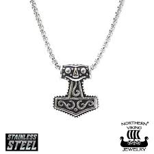 northern viking jewelry pendant mjölnir thor s hammer