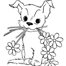 Puppy Coloring Pages Free Puppy Dog Coloring Page Puppy Coloring
