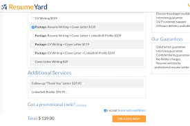 Resumeyard Review Website Features Overview Services Explanation