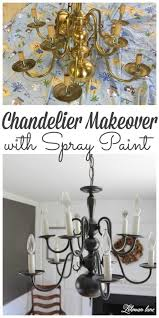 looking for an easy chandelier makeover stop by to see how we transformed my dining