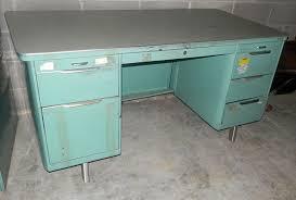 vintage metal furniture. Vintage Metal Desks All About Props Rent Furniture Commercial And Office Vintage Metal Furniture M