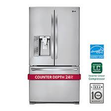 french door counterdepth refrigerator lg counter depth refrigerator e27