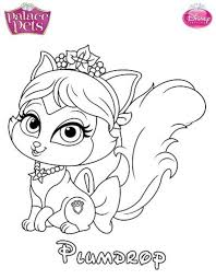 plumdrop kids n fun com 36 coloring pages of princess palace pets on pets for coloring