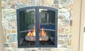 double sided indoor outdoor fireplace indoor outdoor see through custom gas fireplace double sided fireplace indoor