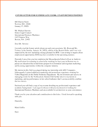 Cover Letter For Unadvertised Job Sample Guamreview Com
