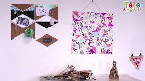 🖼✂[TUTO] Un tableau art déco en triangles découpés - Une vidéo by ...