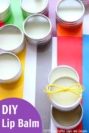 diy lip balm recipe that makes great homemade gifts simple enough for kids to help