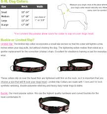 Small Dog Collar Size Chart Dog Collar Size Guide