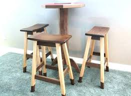 diy wood bar stools metal and stool designs white build a simple