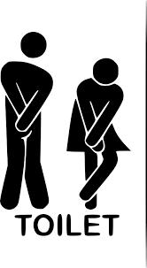 bathroom sign vector. Funny Toilet Entrance Sign Decal Vinyl Sticker For Shop Office Bathroom Vector A