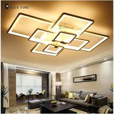 living room ceiling lamps dimming and remote modern ceiling lights led for living room bedroom white