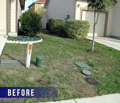 ... Xeriscape Front Yard 4 Redesigned Front Yard Lawn Workforce Home  Improvement Xeriscape Front Yard Texas ...