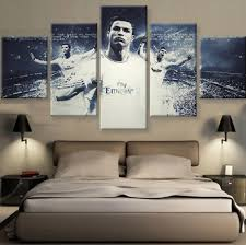 Cristiano Ronaldo White Canvas Set