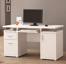 desk computer desk for small spaces wooden computer desk with drawers solid wood computer table