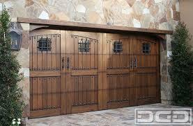 dynamic garage doorsTuscan Renaissance 02  Custom Architectural Garage Door  Dynamic
