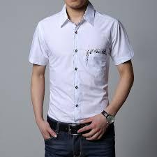 6xl 7xl 8xl Big Men Shirt Short Sleeve 2019 Summer Casual Mens Dress Shirts Black White Purple Social Male Shirt Camisa Social