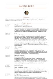 Awesome Chiropractor Resume Ideas - Simple resume Office Templates .