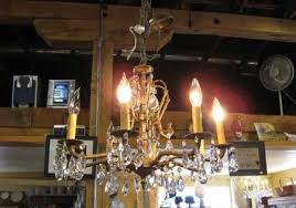she also does restoration lighting for older homes she can build a chandelier from nearly anything just ask