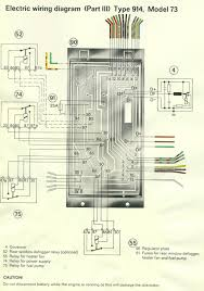 pelican parts porsche 914 electrical diagrams diagram legend · relay board diagram