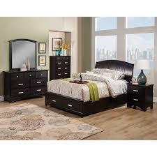 Extraordinary Dimora King Bedroom Set Platf Rustic Row Furniture For ...