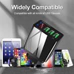 <b>5V3</b>.<b>1A Digital Display Charger</b> Smart Phone Charging Head 3USB ...