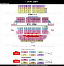 St Martins Theatre London Seat Map And Prices For The Mousetrap