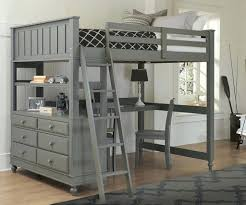 bunk bed trundle desk kids sto finish loft with twin full 2 beds combo