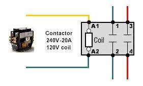contactor pole wiring question home brew forums 4 Pole Contactor Wiring Diagram click image for larger version name contactor wiring jpg views 15755 size 4 pole contactor wiring diagram