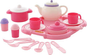<b>Полесье Набор</b> игрушечной <b>посуды Настенька</b> 59000, цвет в ...