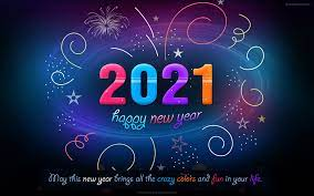 60 Beautiful 2021 New Year Wallpapers ...