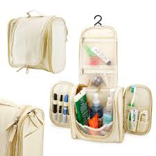 travel toiletry wash bag organizer accessory cosmetics cine makeup shaving kit bag holder khaki