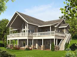 narrow sloping lot lake house plans unique 104 best waterfront house plans images on